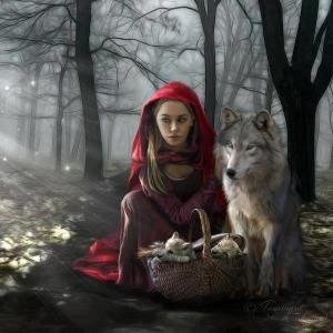 wolf red riding hood