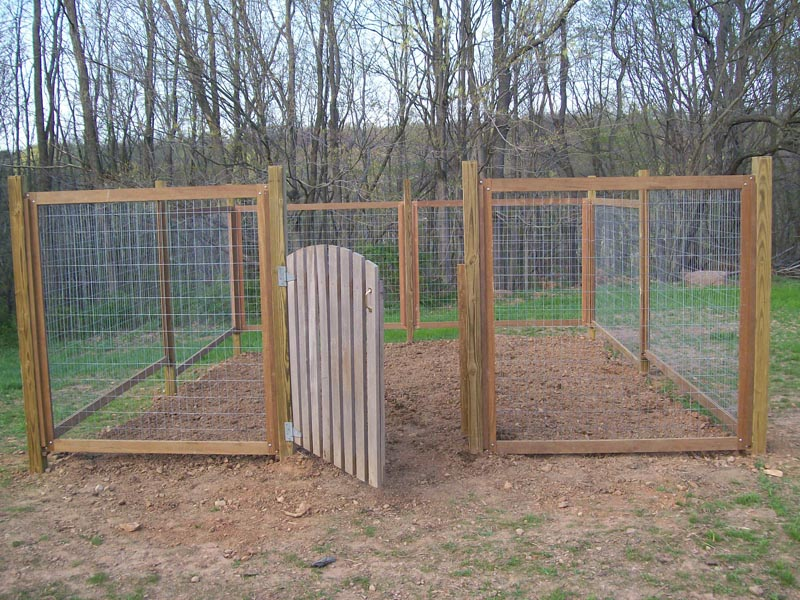 how to build a rabbit fence