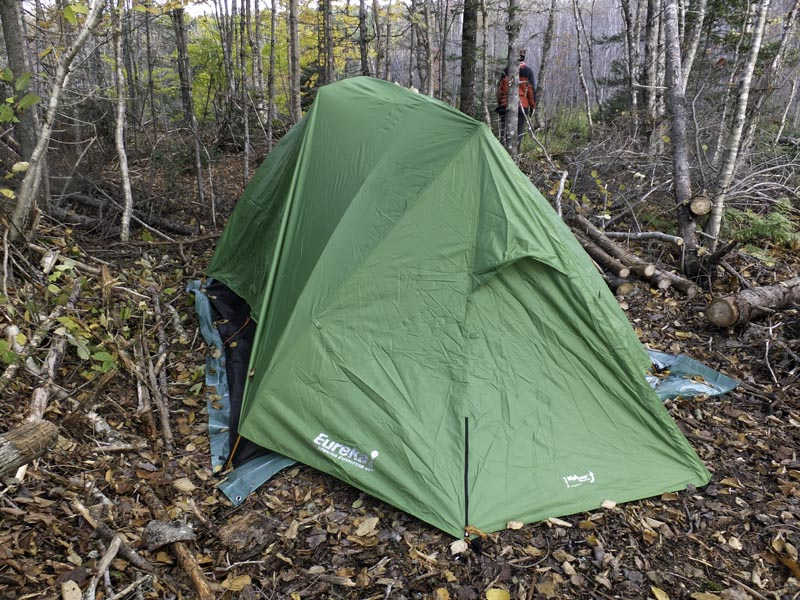 The Eureka Timberline SQ a four man guide quality tent thatu0027s worth every penny. & Eureka Sequoia Outfitter SQ4 Tent | Cliff Seruntine