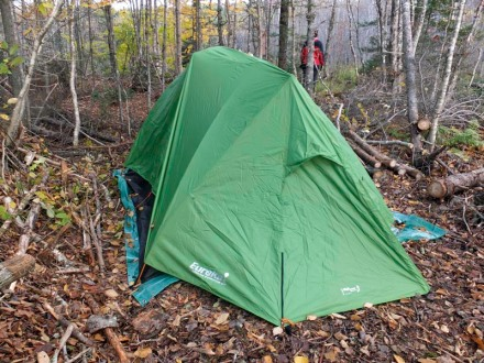The Eureka Timberline SQ, a four man guide quality tent that's worth every penny.