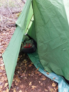 The spacious vestibules keep gear gear handy and dry without requiring you to bring it in the tent.