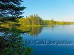 summer lake watermark